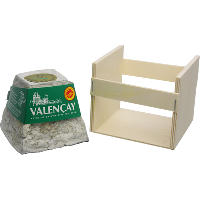 Valencay AOP au lait cru de chèvre, 25% de MG, JACQUIN & FILS, 220g