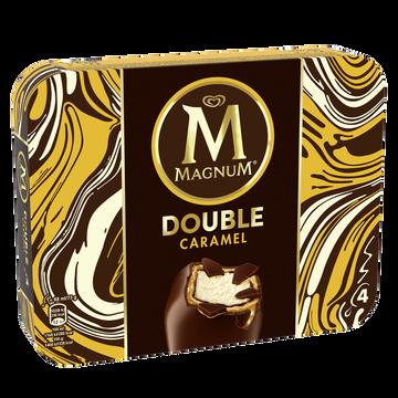 Magnum Glace Bâtonnets Magnum Double Caramel X4