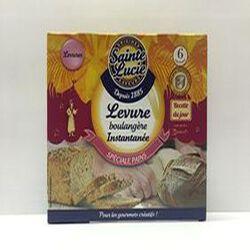 Levure boulangère instantanée, Spéciale pains, Sainte Lucie, 30 g