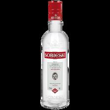 Vodka SOBIESKI, 37,5°, 50cl nouvel habillage