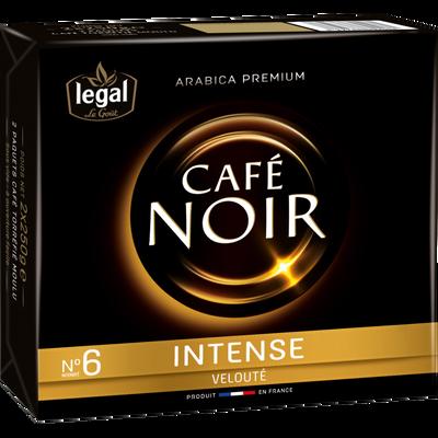 Café noir moulu intense LEGAL, 2x250g soit 500g