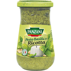 Sauce pesto basilic frais PANZANI, 200g