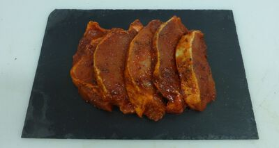 Pavé de porc barbecue x5
