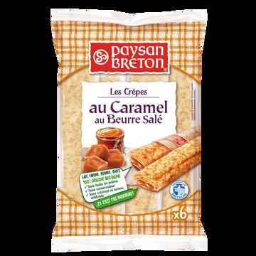 Paysan Breton Crêpes Fourrées Au Caramel Au Beurre Salé Paysan Breton, X6 Soit 180g