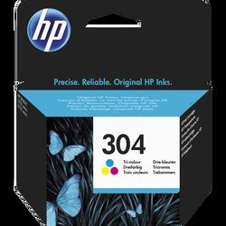 Cartouche d'encre HP pour imprimante, N9K05AE couleur N°304, sous blister