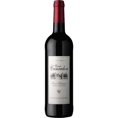 Vin rouge AOP Saint Chinian Cuvée Canredon, bouteille de 75cl
