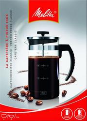 Cafetière à piston MELITTA, 1.2l, 8 tasses