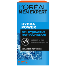 Soin hydra power hydratant rafraichissant MEN EXPERT, flacon pompe 50ml