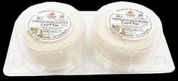 CROTTIN CHEVRE AFFINE X2, au lait cru de chèvre, 23%MG, 2X60G
