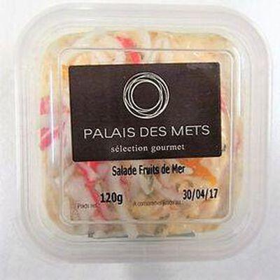 Salade fruits de mer PALAIS DES METS,120g