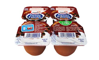 FROM. FILOUS CHOCOLAT 4 X 60 G