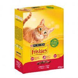 Aliment complet pour chat au boeuf et au poulet FRISKIES, 400g