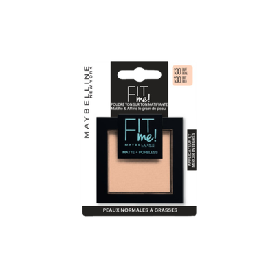 "Fond de teint ""Fit me matte et poreless"" blister MAYBELLINE"