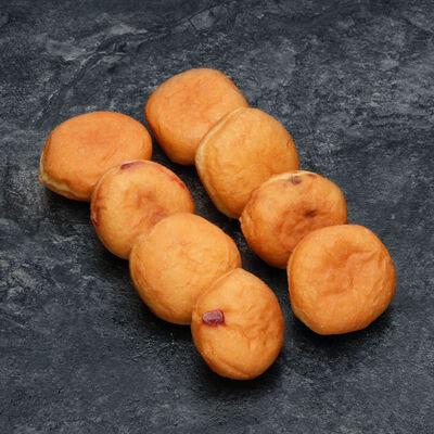 P'tit beignet assorti (pomme, fruits rouges, chocolat noisette), décongelé, 9 pièces, 225g