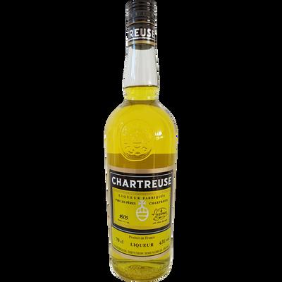 Liqueur CHARTREUSE jaune 43° bouteille de 70cl