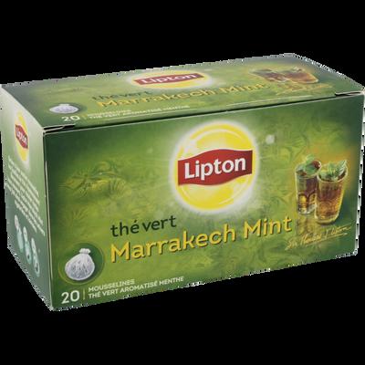 Thé à la menthe Marrakech Mint LIPTON, 20 sachets, 40g