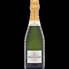 Brut Champagne  Montvillers, Bouteille De 75cl