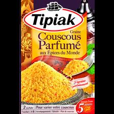 Tipiak Graine De Couscous Aux Épices Du Monde , 2x250g