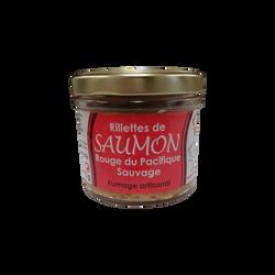 Rillettes de saumon rouge du Pacifique sauvage, bocal 90g
