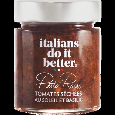 Pesto rosso ITALIANS DO IT BETTER, 135g