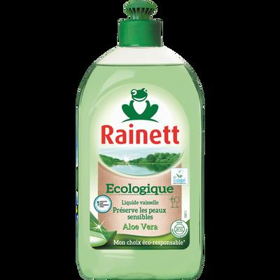 Liquide vaisselle main aloe vera Ecolabel RAINETT, 500ml