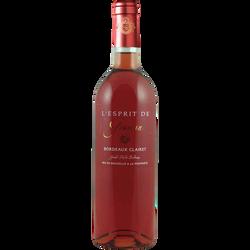 Bordeaux Clairet AOP rosé l'Esprit De Graman, 75cl