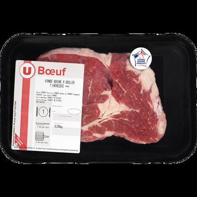 Viande bovine - Entrecote *** Genisse, U, France, 1 pièce
