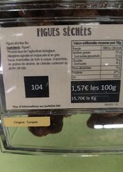 FIGUES SECHEES BIO