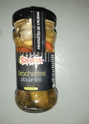 BROCHETTES PIQUANTES