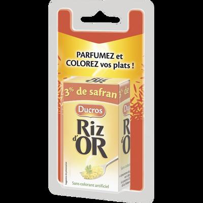 Assaisonnement pour plats de riz et paëllas, RIZDOR, 14 doses, 8g