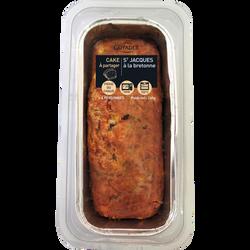 Cake aux noix Saint Jacques cuisinées à la bretonne, 260g