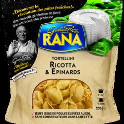 Tortellini ricotta et épinards RANA, 250g