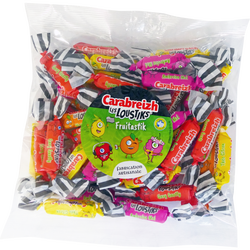 Bonbons Fruitastik CARABREIZH LES LOUSTIKS, sachet 150g