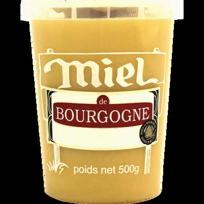 Miel de Bourgogne LES RUCHERS DE BOURGOGNE, pot de 500g