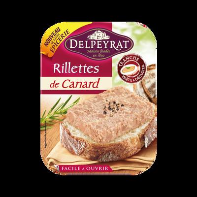 Rillettes canard DELPEYRAT, 160g
