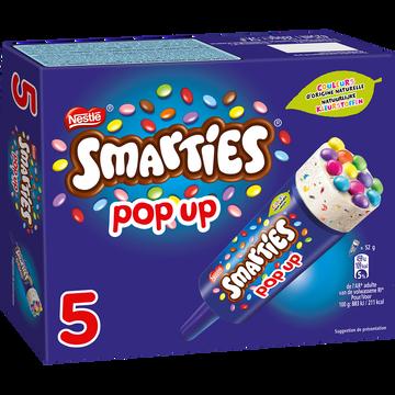 Smarties Glace Smarties Pop Up Nestle, X5