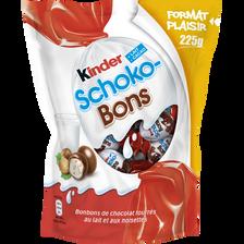 Schokobons KINDER, sachet de 225g