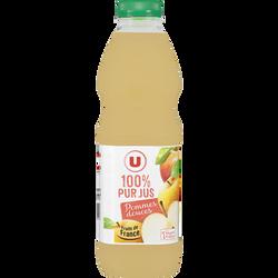 Pur jus de pommes douces U, bouteille de 1 litre