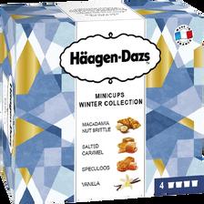 Minicups winter collection HÄAGEN DAZS, 4x348g