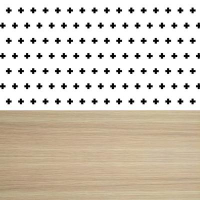 Serviettes wabwood HAPPY PAPER, 3 plis, 33x33cm, noires, 20 unités
