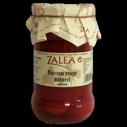 Poivrons rouges entiers ZALEA, pot en verre de 190g