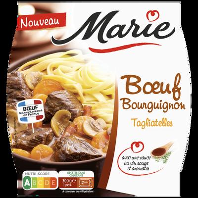 Boeuf bourguignon et tagliateles MARIE, 300g