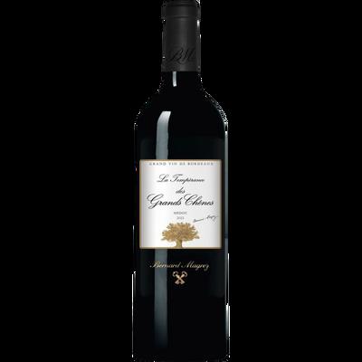 Vin rouge AOP Médoc La Tempérance des Grands Chênes, 75cl