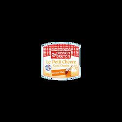 Bûchette de chèvre au miel au lait pasteurisé PAYSAN BRETON, 19,1% deMG, 100g