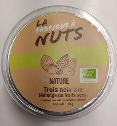 TROIS NOIX BIO NATURE 150G - LA FABRIQUE A NUTS