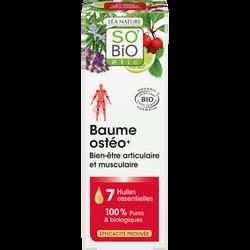 Baume ostéo+ bien-être articulaire et musculaire aux 7 huilesessentielles biologiques SO BIO 75ml