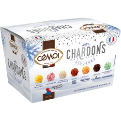 Ballotin 7 chardons chocolat à la liqueur CEMOI, 210g