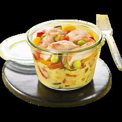 Emincé de poulet curry au lait de coco, 260g
