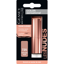 Rouge à lèvres cs nude 725 tantalizing ta MAYBELLINE