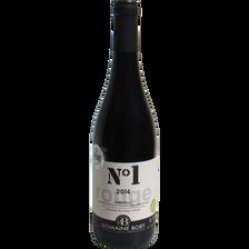 Vin rouge bio Côteaux Languedoc AOC  Domaine de Bort N°1, bouteille de75cl